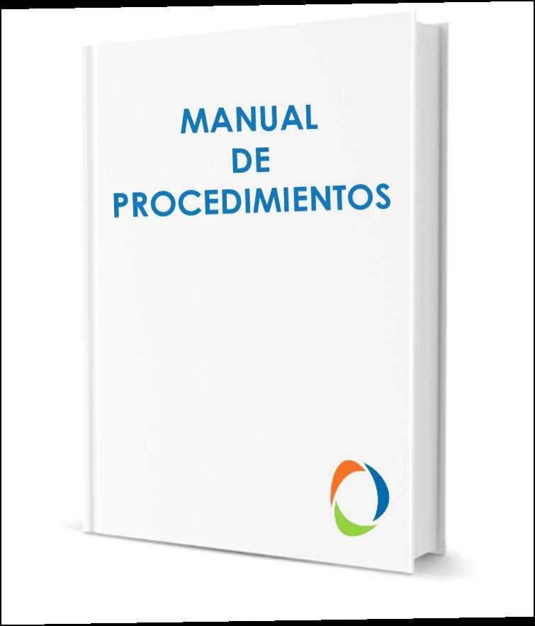 plantilla cómo hacer un manual de procedimientos