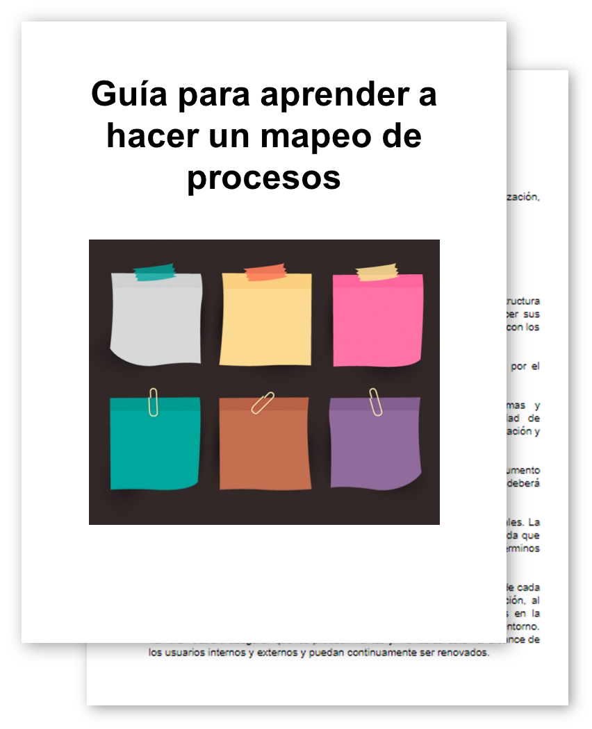 ejemplos de mapeo de procesos