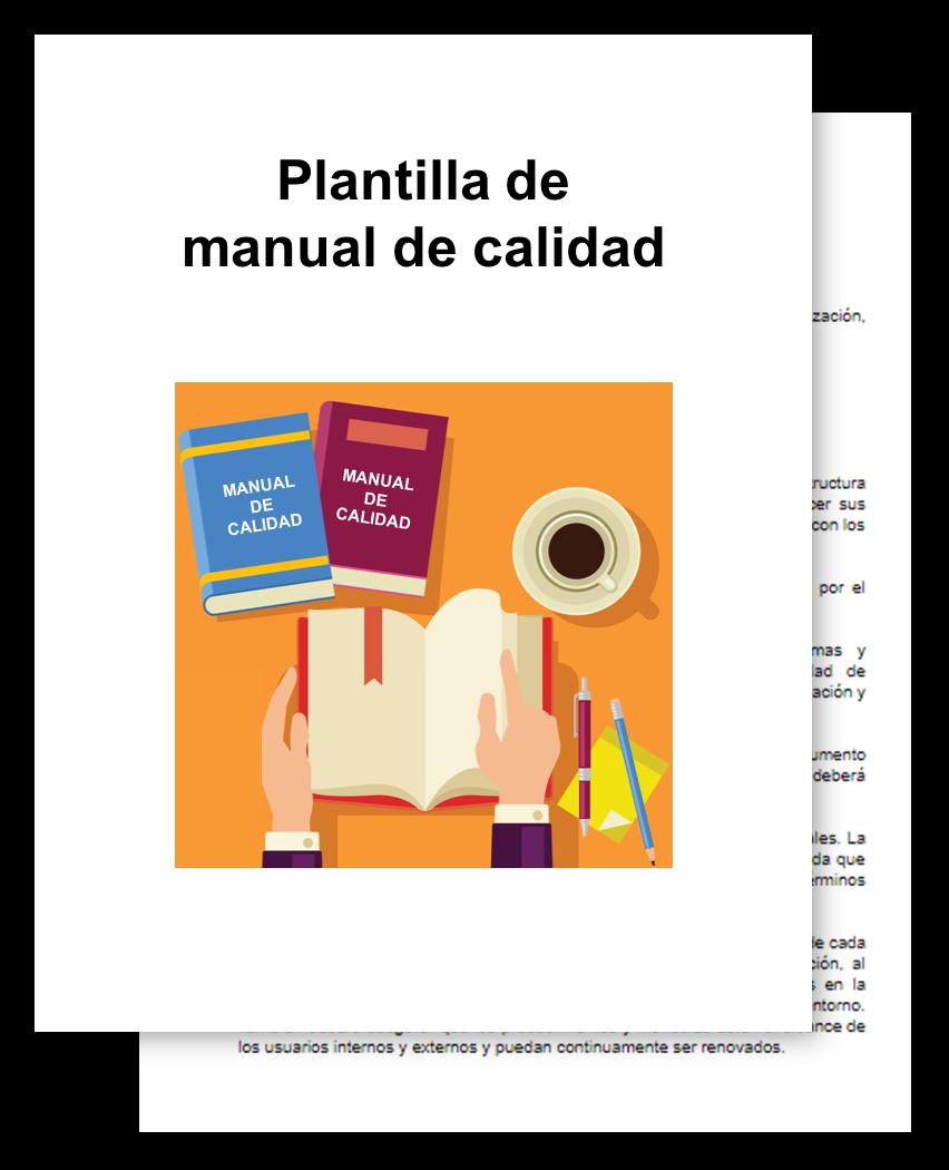 portada manual de calidad